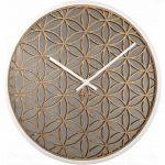 Porovnání ceny NeXtime Designové nástěnné hodiny 3194wi Nextime Bella Mirror 50cm