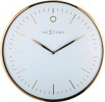 Porovnání ceny NeXtime Designové nástěnné hodiny 3235wi Nextime Glamour 40cm