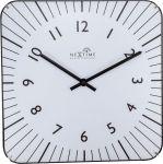 Porovnání ceny NeXtime Designové nástěnné hodiny řízené signálem DCF 3240wi Nextime Alex 35cm