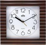 Porovnání ceny Nástěnné hodiny ve vlnovitém dřevěném rámu..0571 50 - hnědá