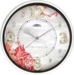 Porovnání ceny Nástěnné hodiny kovové s tichým chodem PRIM E04P.3092.31 bílá
