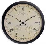 Porovnání ceny NeXtime Designové nástěnné hodiny 2969 Nextime Aje Wheather Station 25cm
