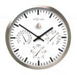 Porovnání ceny NeXtime Designové nástěnné hodiny 2635 Nextime Meteostanice 35cm