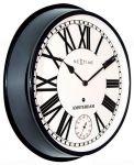 Porovnání ceny NeXtime Designové nástěnné hodiny 3128zw Nextime Amsterdam 52cm
