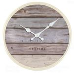 Porovnání ceny NeXtime Designové nástěnné hodiny 3133gs Nextime Plank 30cm