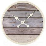 Porovnání ceny NeXtime Designové nástěnné hodiny 3134gs Nextime Plank 50cm