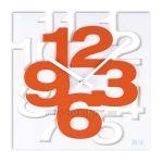 Porovnání ceny Nástěnné hodiny JVD TIME H106 oranžová