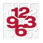 Porovnání ceny Nástěnné hodiny JVD TIME H106 červená