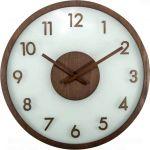 Porovnání ceny NeXtime Designové nástěnné hodiny 3205br Nextime Frosted Wood 50cm