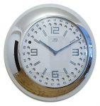 Porovnání ceny HC 08.1 - Luxusní analogové bateriové nerezové nástěnné hodiny JVD steel HC 08.1.1