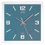 Porovnání ceny Nástěnné hodiny JVD N26113.2.1. N26113.3.2 čtvercové hodiny šampaň N26113.7.3