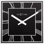 Porovnání ceny NeXtime Designové nástěnné hodiny 5184zw Nextime Square 20cm
