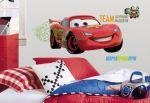 Porovnání ceny RoomMates Samolepka auto Blesk - Lightning McQueen. Obrázky Disney Cars 2.