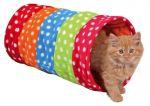Porovnání ceny Trixie Barevný tunel pro kočky, flízový 25x50 cm