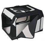 Porovnání ceny Trixie Transportní nylonový box Vario černo-šedý S 61x43x46 cm černo-šedý