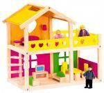 Porovnat ceny BINO - 83553 Drevený domček pre bábiky so zariadením