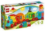 Porovnat ceny LEGO - DUPLO 10847 Vláčik s číslam