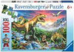 Porovnat ceny RAVENSBURGER - Dinosaury 100D Xxl