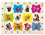 Porovnat ceny BINO - 13799 Puzzle Krtko tvary