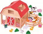 Porovnat ceny BINO - 82221 drevená farma so zvieratkami