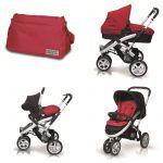 Porovnat ceny CASUALPLAY - Kočík S4, autosedačka Baby 0plus, vanička Metropol a Bag (2014)