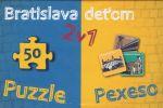 Porovnat ceny Ikar Bratislava deťom-Pexeso a Puzzle - Kolektív autorov