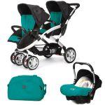 Porovnat ceny CASUALPLAY - Set kočík pre dvojičky Stwinner, 2 x autosedačka Baby 0plus a Bag 2017 - ALLPORTS
