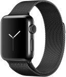 Porovnání ceny Apple Watch Series 2 38mm vesmírně černá nerezová ocel s vesmírně černým milánským tahem