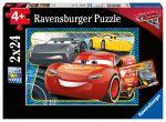 Porovnat ceny RAVENSBURGER - Disney Autá 3: Môžem Vyhrať! 2X24 Dielikov