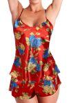 Porovnat ceny Solla Holly saténový komplet XL červená
