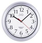 Porovnání ceny JVD Nástěnné vodotěsné plastové hodiny SH494.1 STŘÍBRNÁ BARVA sh494.1 stříbrná