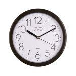 Porovnání ceny Černé moderní netikající hodiny JVD quartz HP612.3