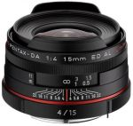 Porovnání ceny Pentax HD DA 15mm f/4,0 ED AL Limited černý