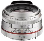 Porovnání ceny Pentax HD DA 15mm f/4,0 ED AL Limited stříbrný