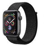 Porovnání ceny Apple Watch Series 4 44 mm ies 4 44mm vesmírně šedý hliník s černým provlékacím sportovním řemínkem