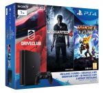 Porovnat ceny SONY PLAYSTATION PS4 - Playstation 4 1TB Slim - FAMILY Pack - 3 hry: (Uncharted 4, Driv
