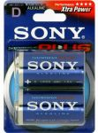 Porovnat ceny SONY Alkalické baterie AM1B2D, 2 ks LR20/D, Stamina Plus