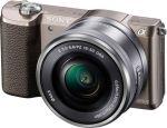 Porovnat ceny Sony A5100L, 16-50mm, 24,3Mpix, hnědý