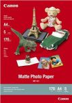 Porovnání ceny Canon MP-101, A4 fotopapír matný, 5 ks, 170g/m