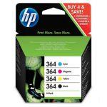 Porovnat ceny HP 364 - Combo pack C/M/Y/K, N9J73AE