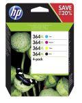 Porovnat ceny HP 364 XL - Combo pack C/M/Y/K, N9J74AE