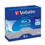Porovnat ceny VERBATIM BD-R DL(5-Pack)Jewel/6x/50GB