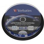 Porovnat ceny Verbatim Blu-ray BD-R M-Disc 25GB 4x Printable, 10-cake