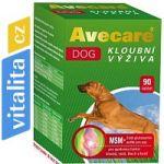 Porovnání ceny Aveflor Avecare Dog kloubní výživa MSM+ glukosamin 90tbl pes