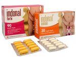 Porovnání ceny Synergia Indonal Forte 90 kapslí + Indonal Woman 30 kapslí