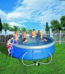 Porovnání ceny Bestway 5615 Bazén samostavěcí zahradní 457 x 107 cm s příslušenstvím