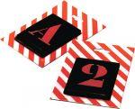 Porovnání ceny Kovová šablona Abeceda hůlková, 26 písmen, výška 250mm, 61250 PRAMARK
