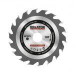 Porovnání ceny Kreator KRT020434 - Pilový kotouč na dřevo 115mm, 18T