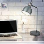 Porovnání ceny Searchlight SCANDI EU1853GY stolní retro lampa