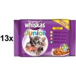 Porovnat ceny Whiskas JUNIOR ve šťávě BONUS 13 x (4 x 100g)